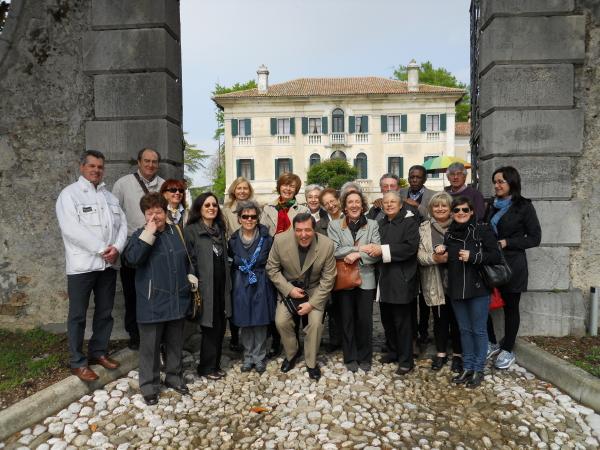 Visita all'antica biblioteca Florio in Persereano -UD- (3/3)