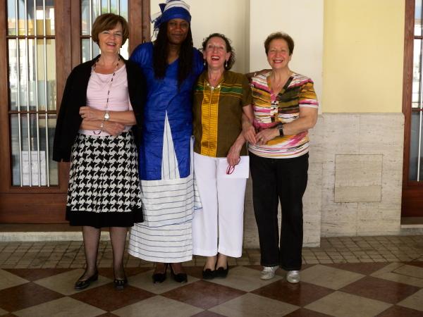 24 maggio 2012 incontro con Mah Aissata Fofana