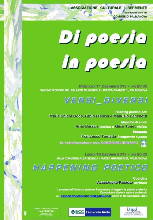 Loc. Di poesia in poesia